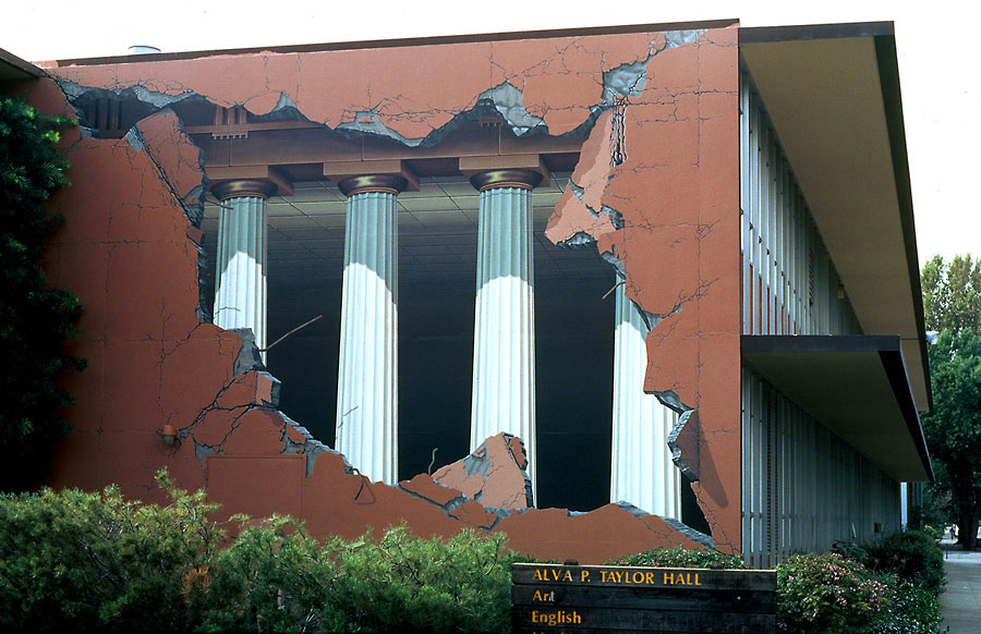 3D Building Art – Building Ripped Open