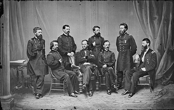 Manipulated Photoshop Photos - Civil War Generals