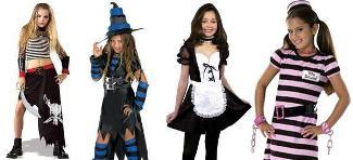 Sexy Children Halloween Costumes