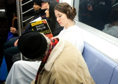 Star Wars Improve Everywhere Scene - Leia
