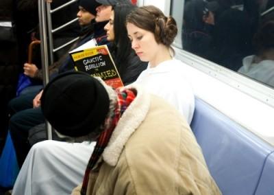 Star Wars Improve Everywhere Scene - Leia