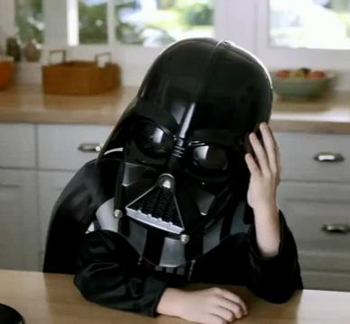 Darth Vader Volkswagen SuperBowl