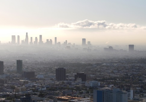 Los Angeles Pollution Cities