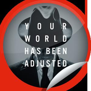 The Adjustment Bureau Movie Logo