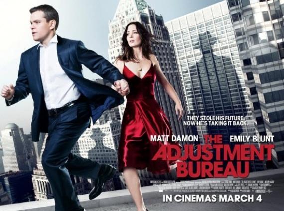 The Adjustment Bureau Movie - Matt Damon Emily Blunt