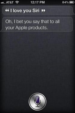 Siri - iPhone 4S - Love You