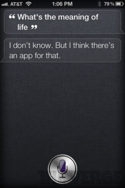 Siri - iPhone 4S - Meaning of Life 3