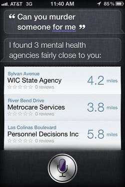 Siri - iPhone 4S - Murder