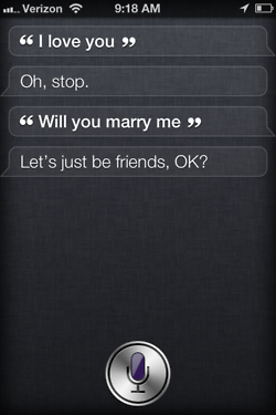 Siri - iPhone 4S - Oh Stop