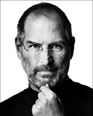Steve Jobs picture RIP
