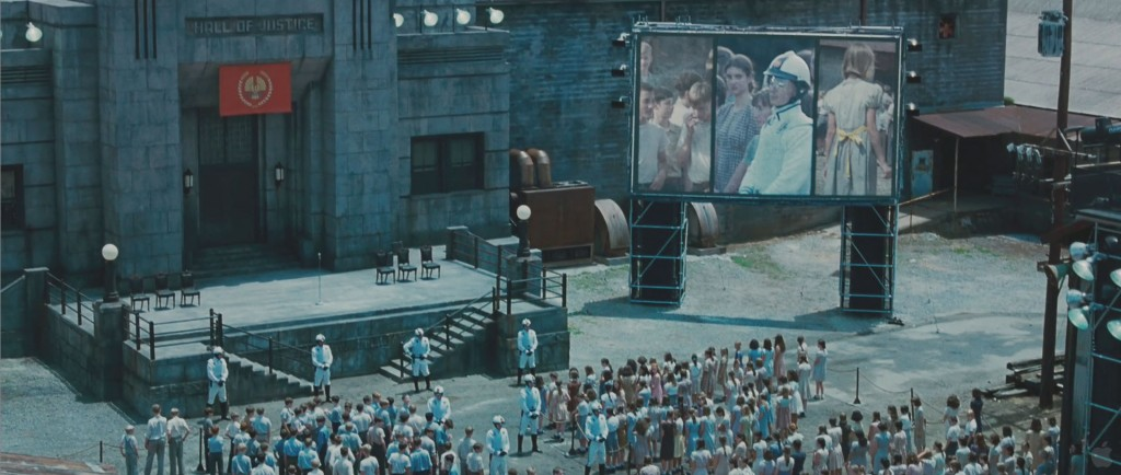 Hunger Games Movie - Katniss Selection