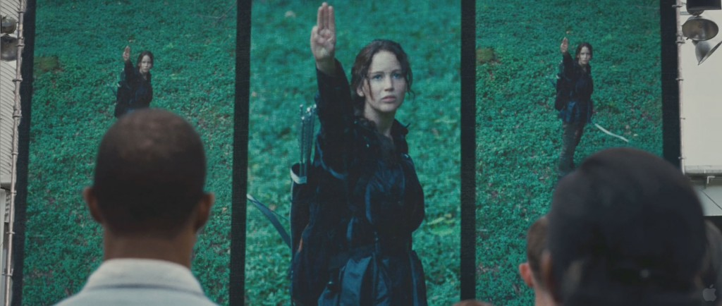 Hunger Games Movie - Katniss Sign
