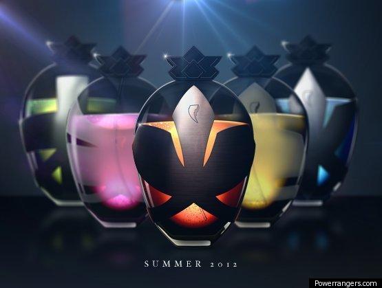 Power Ranger Perfume April Fools