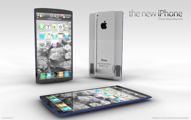 iPhone 5 Design Mockup - The New iPhone ADR