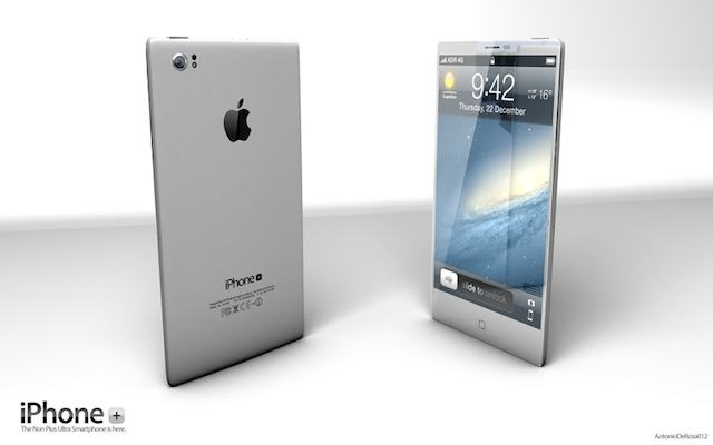 iPhone 5 Design Mockup - iPhone Plus