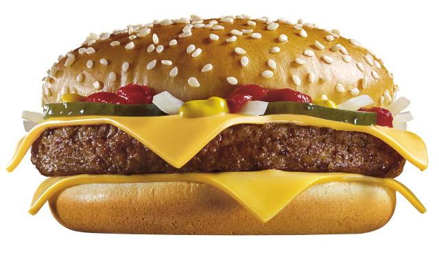 McDonald Quarter Pounder Photoshop Burger