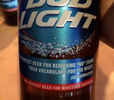 Budlight Upforwhatever No