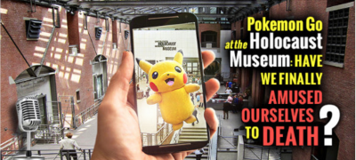 Pokemon Go at Holocaust Museum